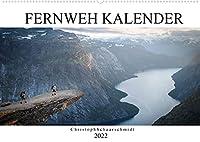 Fernweh Kalender (Wandkalender 2022 DIN A2 quer): Begeben SIe sich auf eine Reise durch Europa (Monatskalender, 14 Seiten )