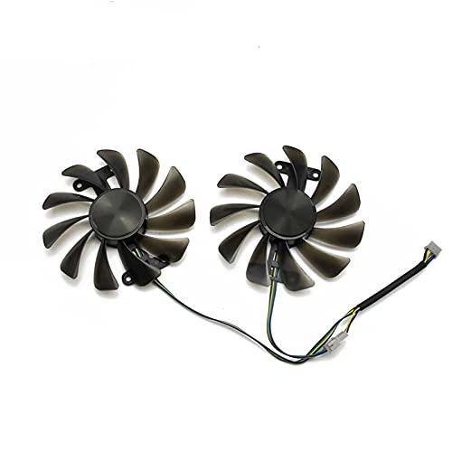 2 unids/Lote 95mm GF10012H12SPA Fan de reemplazo para Zotac GeForce GTX 1070 1080 AMP GTX1070 GTX1080 Tarjeta de gráficos Ventilador de enfriamiento