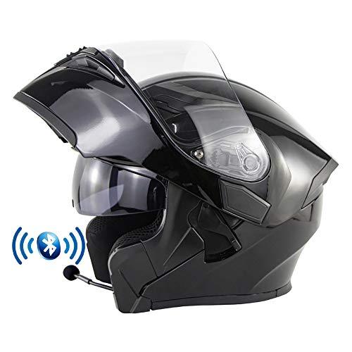 Casco de Moto Modular Bluetooth...