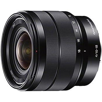 Sony - E 10-18mm F4 OSS Wide-angle Zoom Lens (SEL1018),Black
