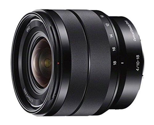 The 10-18mm wide angle lens for Sony E-mount cameras