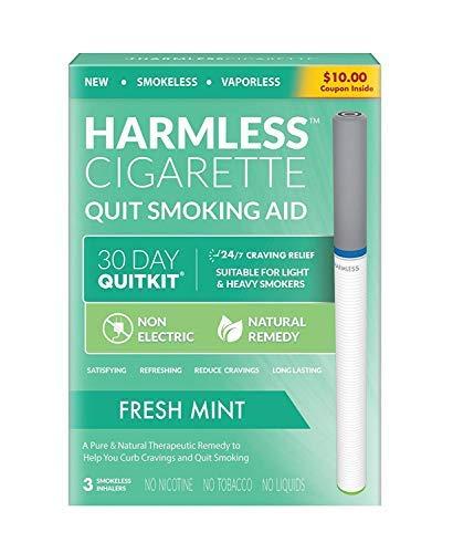 Kit para dejar de fumar de 30 días/dejar de fumar para ayudar a dejar de fumar/Mejor producto para dejar de fumar/producto para dejar de fumar (menta fresca, kit para dejar de fumar de 30 días)
