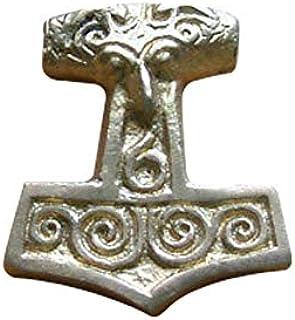 GDFB Ciondolo a forma di martello di Thor, in ottone