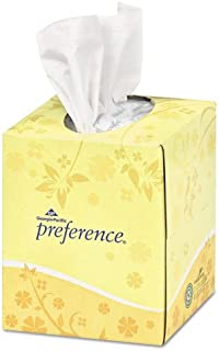 Georgia Pacific Professional Cube Box Facial Tissue, 2-Ply, White, 7 21/32 x 8 27/32 - 36 boxes of 100 sheets each.