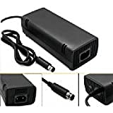 NIUNIUTU WantMall AC Power Adapter Charger for Xbox 360 E Game Console-US Plug-Black