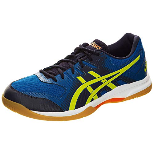 ASICS Herren Gel-Rocket 9 Volleyballschuhe, Blau (Blue 1071A030-400), 39.5 EU