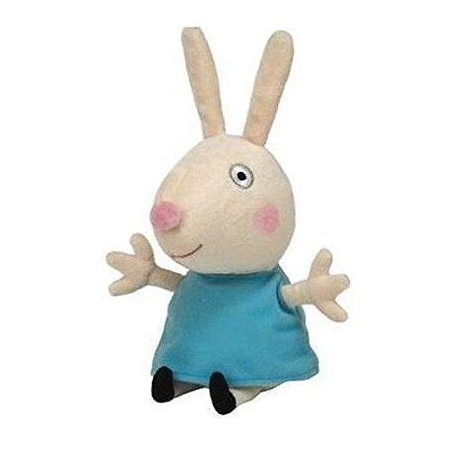 Carletto Ty 46140 Rebecca Rabbit Peppa Pig Plüsch, Blau