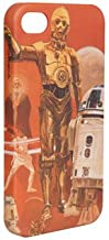 POWER A CPFA000539 Star Wars Saga Case Series for iPhone 4/4S - 1 Pack - Retail Packaging - Droids of Tatooine