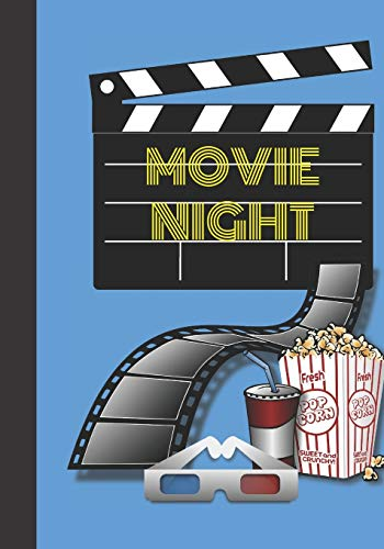 Movie Night: Family Night Movie's A Fun Journal To Record And Review