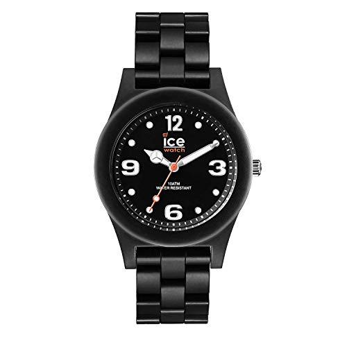 Ice-Watch - ICE slim Black matte - Men's (Unisex) wristwatch with plaastic strap - 016246 (Medium)