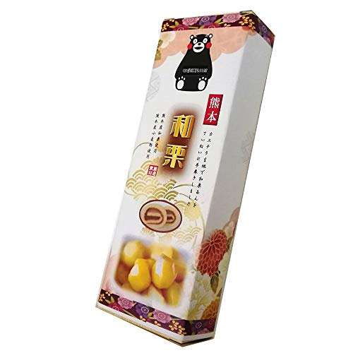 熊本和栗あん巻 細箱×1箱 イソップ製菓 カステラ生地で和栗あんを手巻きにした郷土菓子