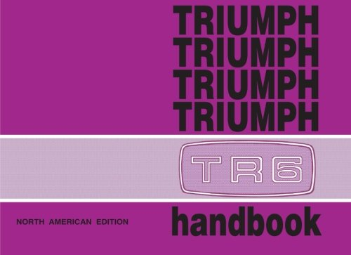 Triumph TR6 Handbook