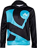 Cloud9 Official Pullover Hoodie Sweatshirt - 2018 Rerelease Pro Edition, Unisex Adults & Teens, Printed Graphic Logo, Merchandise - Esports Apparel for Young Gamers, Players & Fans (Medium)