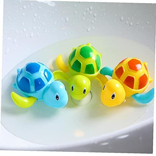 TOSSPER 1pc Niños Juguetes De Baño Piscina Mecánica Tortugas De Agua Juguetes para Niños Animales Juguetes Educativos Color Azar