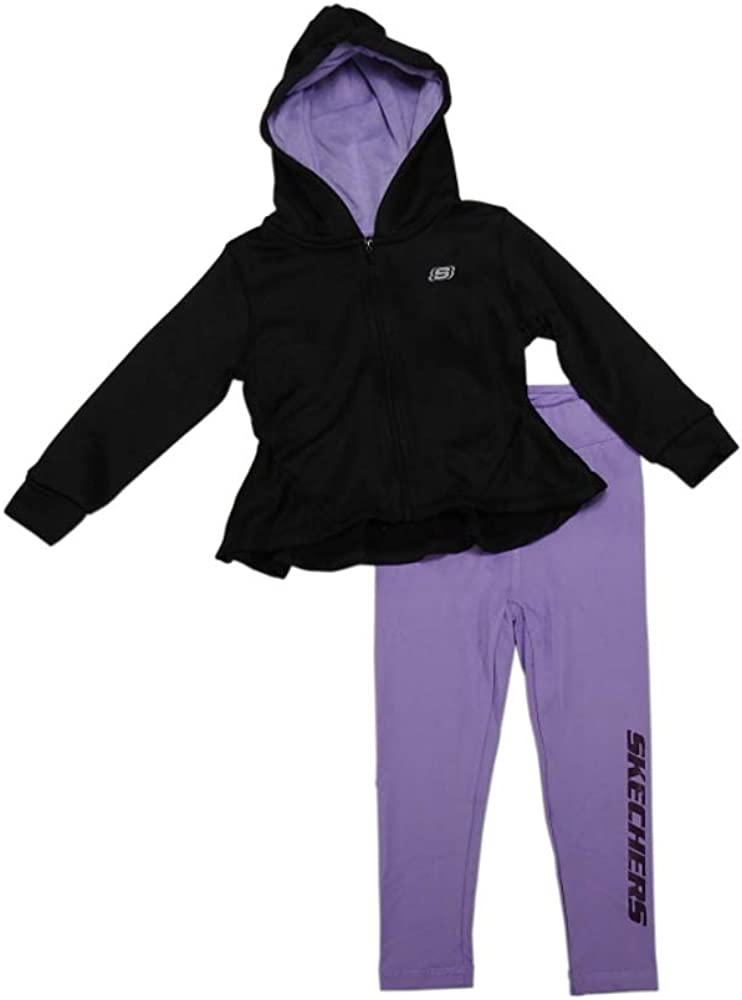 Skechers Active Girl's Legging and Long-Sleeve Sweater