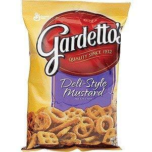 TJ Gardettos Deli Style Mustard Pretzel Mix  7 Bags of 55 oz