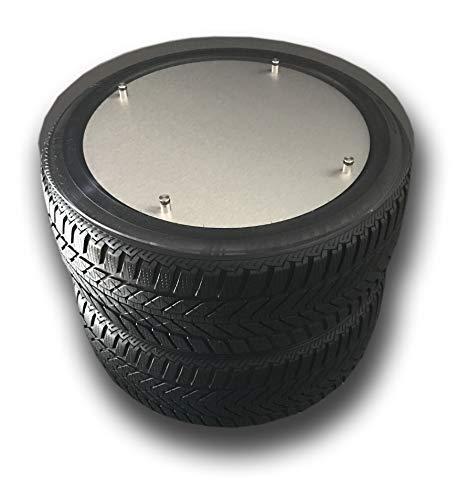 Reifen-Tisch mit individuellen Digitaldruck Beistelltisch Racing Tire Geschenk Couchtisch Design Modern