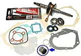 UNTIMERO Albero Motore GUARNIZIONI Serie Kit Set per MALAGUTI F15 Firefox 50 Liquido LC