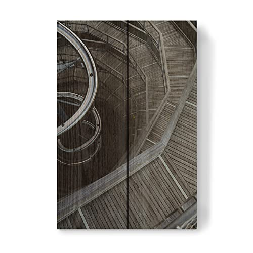 artboxONE Holzbild 30x20 cm Reise Baumwipfelpfad im Schwarzwald von Künstler timonundkamera