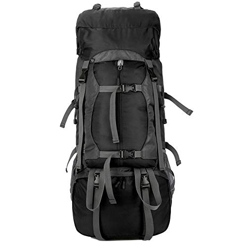 Ys-s Shop customization Outdoor sports backpack professional mountaineering bag 60L hiking function bag camping backpack waterproof,breathable,anti-theft,wear-resistant,lightening,shockproof