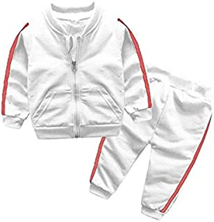 Baby Girl Clothes, Summer Baby Boy 0-3 Months Baby Girl Clothes, Long-Sleeved Clothing Zipper Coat + Pants Baby Clothes Girl for Wear on The Body Gift Photograph Home Outdoor