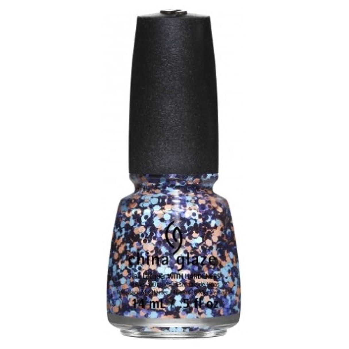 展示会ズーム満了(6 Pack) CHINA GLAZE Nail Lacquer - Suprise Collection - Glitter Up (並行輸入品)