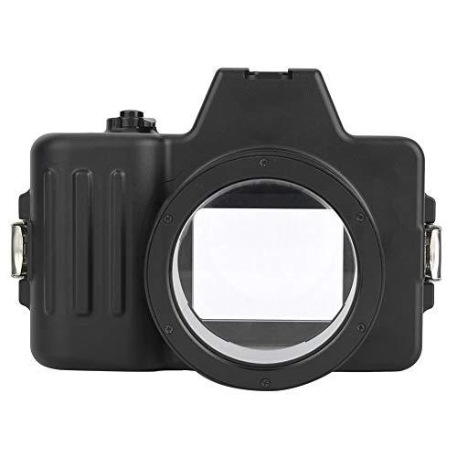Vbestlife Estuche para cámara de Buceo a Prueba de Agua subacuática de 325FT / 100M para Sony A7 DSLR FE2 / 28 16/50 1.8/50 18/55, Carcasa submarina Adecuada para Tomas en el Mundo Marino.
