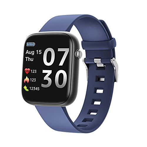 Coolster S30 Neue Bewegungsüberwachung Smart Watch Schritt Wasserdichte Erinnerung Smart Watch (Dunkelblau)