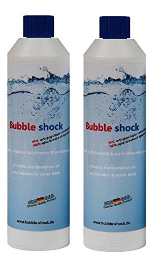 Bubble shock Bubble shock gegen Luftblasenbildung in Bild