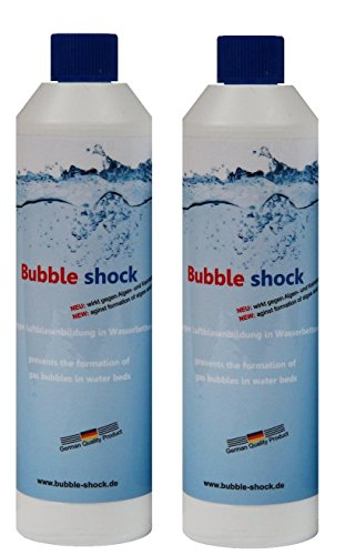 Bubble shock gegen Luftblasenbildung in Wasserbetten Doppelpack (2 x 400g)