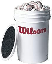 Wilson Bucket of Baseballs (3 dozen)