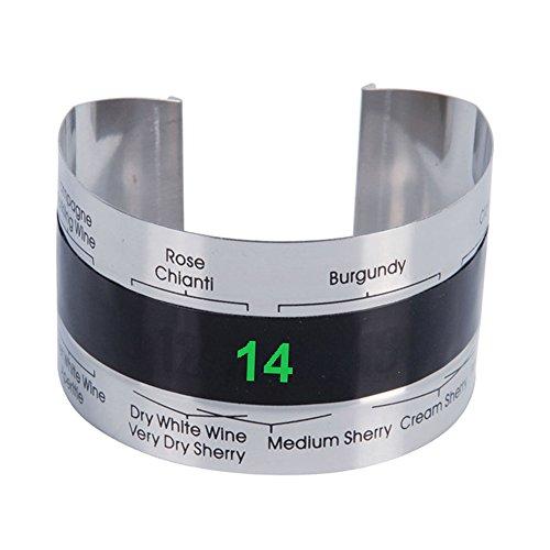 Sukisuki Armband Thermometer Trauben Rotwein Temperatursensor für das Bierbrauen