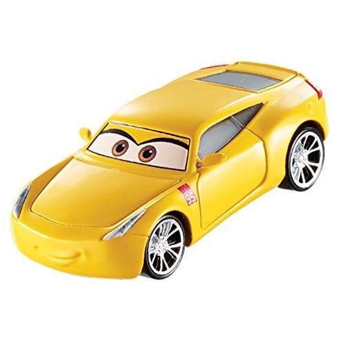 Disney Cars- Cruz Ramirez Giocattolo Veicolo per Bambini, Colore Giallo, DXV33