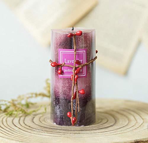 TooGet - Candela profumata in cera di soia naturale, fatta a mano, aromaterapia, per alleviare lo stress, candele profumate, accendino per compleanni, donne, yoga, uso domestico