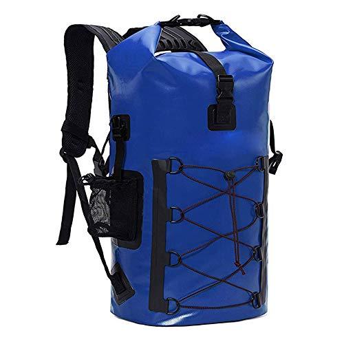 Männer im Freien Wasserdichten Dry Bag Rucksack, großer Kapazitäts-Rucksack, for Kajak, Open Water Schwimmer, Camping, zu Fuß, Reise, Schnorchler (Color : 1, Size : 50L)