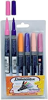 Sakura Permapaque Fine Point Opaque PigmentT Permanent Marker - Set of 6 shades - Pastel colors