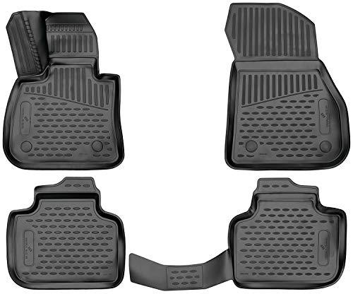 Walser XTR Gummifußmatten kompatibel mit BMW X1 (F48) Baujahr 11/2014 - Heute
