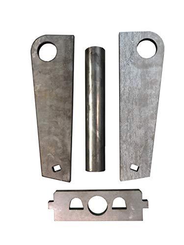 Rahmen MS01 Aufnahme Einzelteile ungeschweißt/Schnellwechsel Adapter SW01 Minibagger