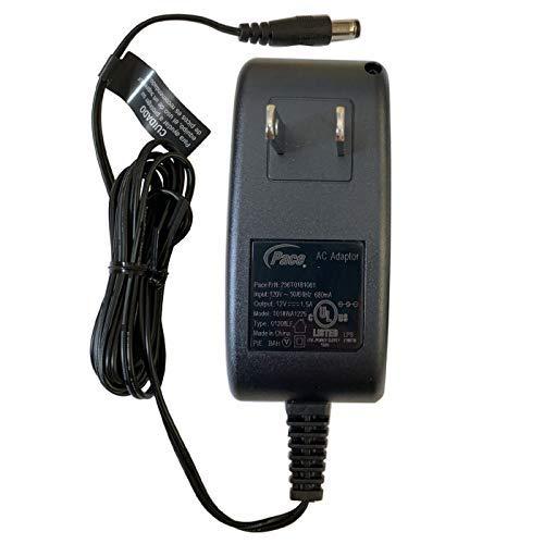 UpBright 12V AC/DC Adapter Compatible with Centurylink Technicolor C1100T Zyxel Qwest C1100Z C1100 T Z C 1100 Z Modem Router AcBel WAF008-AD1G2 DSL37403800 UMEC UC0181D-12PA UP0181D-12PA UP0181G-12PA
