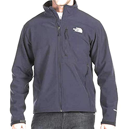 The North Face Men Apex Bionic Jacket in TNF Black/White Logo in X-Large