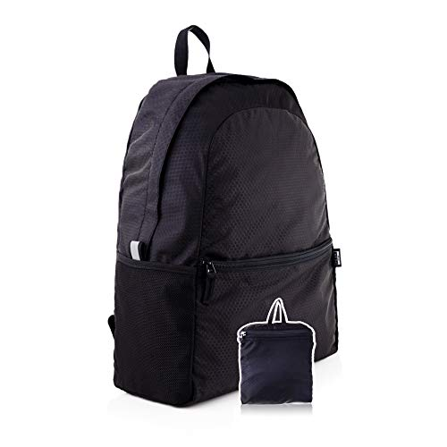 Peak Gear Foldable Backpack - Compact Packable Day Pack