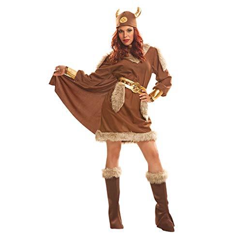 Desconocido My Other Me-201213 Disfraz de vikinga para mujer, M-L (Viving Costumes 201213)