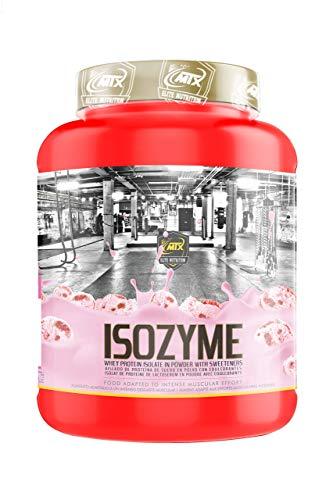 ISOZyme (1,814 Gr) 4 Lbs Fresa - Aislado de Proteína de Suero por Ultra-Microfiltración (CFM) de una calidad increíble