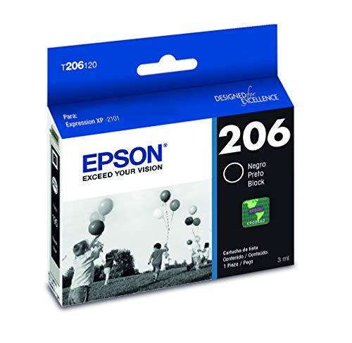 Epson T206120-AL Cartucho De Tinta Color Negro Para Xp-2101, T206120, Negro