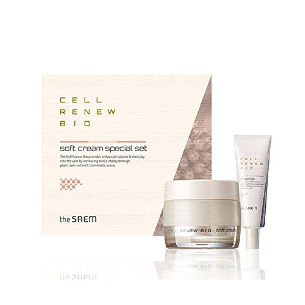土地店主技術者[ザセム] The Saem セルリニュー バイオ クリーム スペシャルセット Cell Renew Bio Cream Special Set (海外直送品) [並行輸入品]