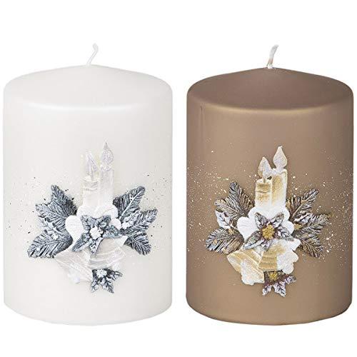 Yankee Candle 1122150 Bougie en pot Parfum poudre de b/éb/é Jarre Grande Blanc