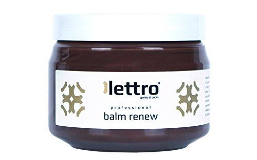 Lettro Balm Renew – hochwertige Lederpflege & Leder Farbauffrischung für Ledermöbel,...