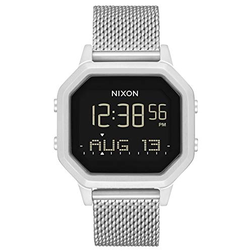 NIXON SS All Silver A12721920 reloj de acero para mujer.