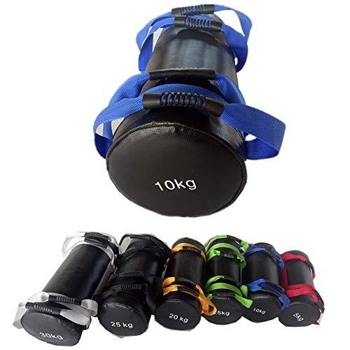 Sandbag Bolsas De Arena 5/10/15/20/25/30 kg,Bolsa de Pesas con Bolsas de Relleno para Trabajo Pesado para Ejercicios de Entrenamiento Funcional y potenciamiento Muscular