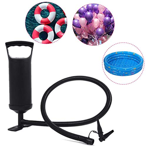 ER-NMBGH High Output-Handpumpe, Handluftpumpe für Matratze Pumpe, Swimming-Pool, Luftballons